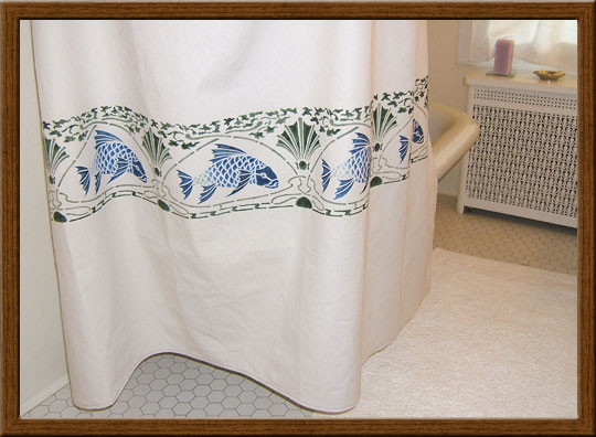 A Home Sweet Bungalow Shower Curtain Is Work Of Art That Gives Great Impact To Your Bathroom With One Accessory The Hand Painted Textiles Are In